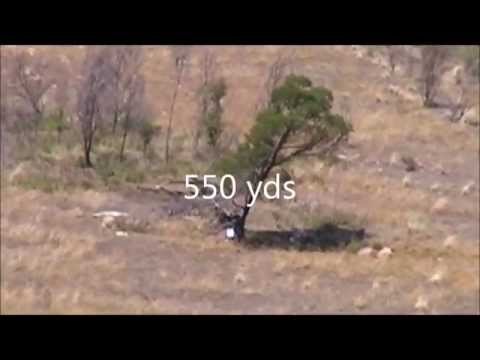 Long Range shooting  Tikka T3 270 win  (400-550 yards)