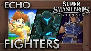 Super Smash Bros. Ultimate - All Echo Fighters So Far (Gameplay Showcase)
