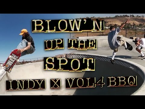 Blow'n Up the Spot: Independent Trucks x Vol.4 at Prince Park