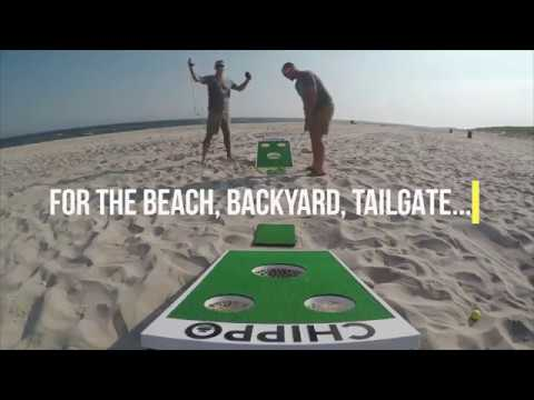 Chippo - Golf Meets Cornhole! The Revolutionary New Golf Game for The Beach, Backyard, Tailgate