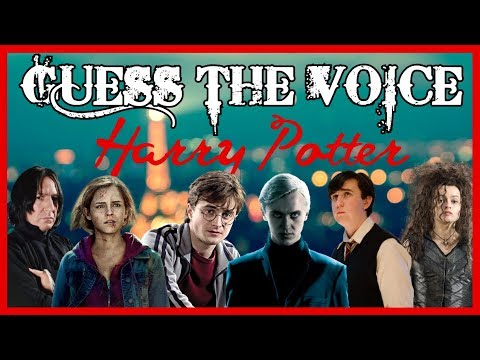 [GUESS THE VOICE] Harry Potter #01
