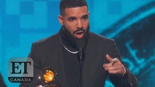 Drake Cut Off During Grammys Speech