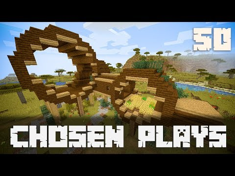 Chosen Plays Minecraft 1.13 Ep. 50 Expanding The Cylinder Build