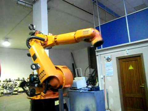 Used industrial robot Kuka KR150L120/2 at www.reprobots.com
