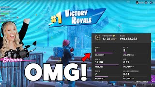 My Wife Got Her First Fortnite WIN and this was her reaction