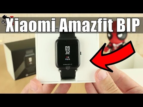 Xiaomi Huami Amazfit BIP Smartwatch: Review and Unboxing
