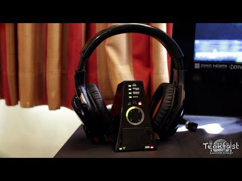 First Look: Tritton Warhead 7.1 Surround Headset (Hands-On)
