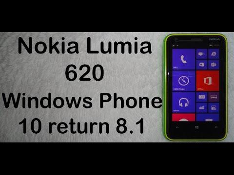 Как сделать откат с windows phone 10 до windows phone 8.1