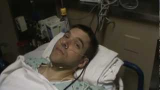 Ulcerative Colitis-Colectomy/Jpouch-Video 19-Jan 14, 2013-2nd surgery Post Op
