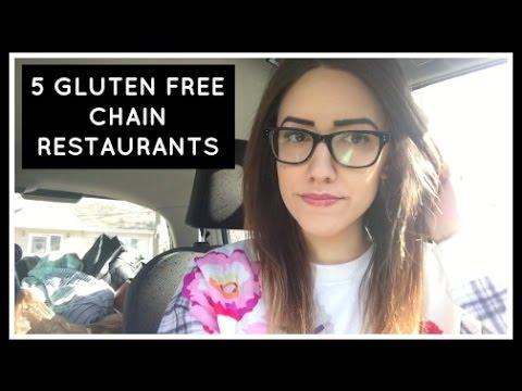 5 GLUTEN FREE CHAIN RESTAURANTS