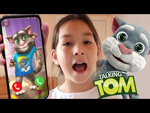 I CALLED TALKING TOM in REAL LIFE and HE ANSWERED then CAME TO MY HOUSE (SKIT)