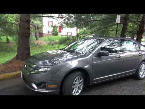 2012 Ford Fusion SEL V6  Review. Walk Around and Test Drive