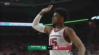 Arkansas vs. North Texas 11/12/2019