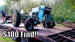 SAVED FROM THE GRAVE FORD TRACTOR