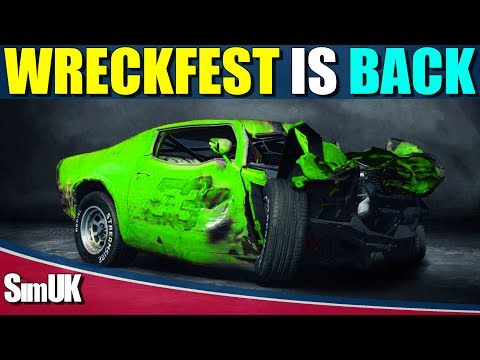 Wreckfest (NEXT Car Game) is BACK.....OR IS IT?? + First Look Gameplay