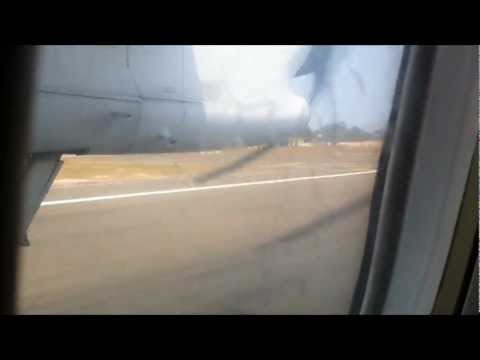 Flight from Trivandrum (INDIA) to Ibrahim Nasir International Airport (MALDIVES) [HD]