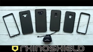 RhinoShield Cases and Camera Lens | First Impressions