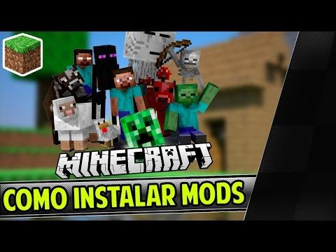 TUTORIAL - Como Baixar. Instalar e Jogar qualquer Mod No Minecraft