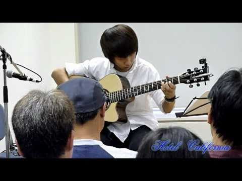 Hotel California - Sungha Jung Live In Japan 2010  no.6 video