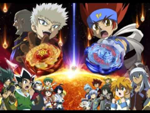 Metal Fight Beyblade Main Movie Theme Spinning The World Full video