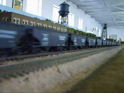 HO-Gauge Modular Layout, March 2010 Video