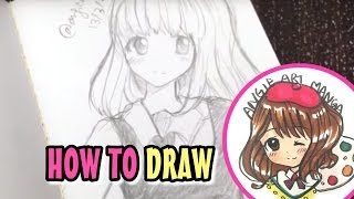 Drawing Anime / Manga Girl (real time)