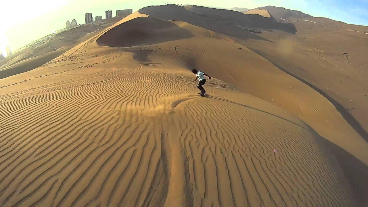 How to Sandboard