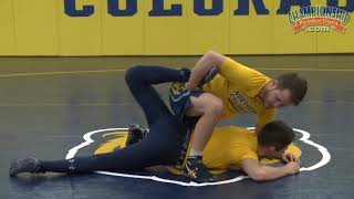 "Troy Nickerson's ""Can Opener"" Pinning Combination!"