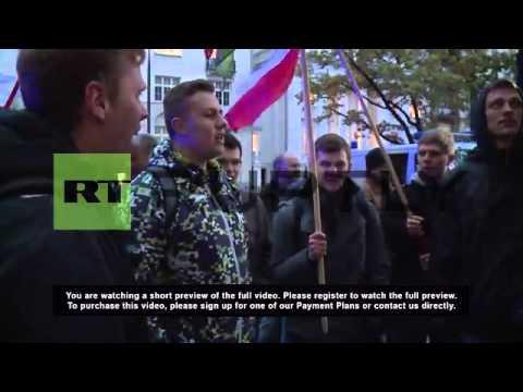 Poland: Protesters blast Poroshenko's decision to celebrate