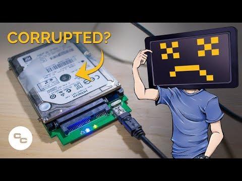 Corrupted Hard Drive? - Krazy Ken's Tech Misadventures