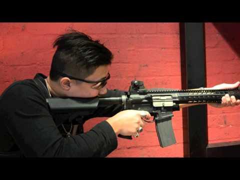 PTS Mega Arms MKM AR15 GBB