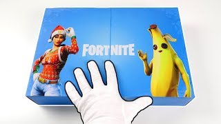 "Fortnite Battle Royale ""DARKFIRE"" Bundle Unboxing + Fortnite Advent Calendar 2019"