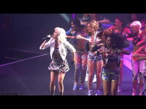 Ashley Roberts(live) - Ant&Dec's Saturday Night Takeaway Tour - Newcastle