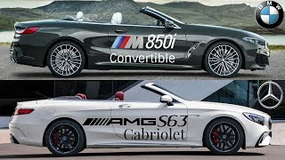 BMW M850i Convertible vs Mercedes-AMG S 63 Cabriolet