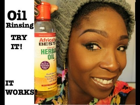 Natural Hair Experience With Oil Rinsing (It's Official)