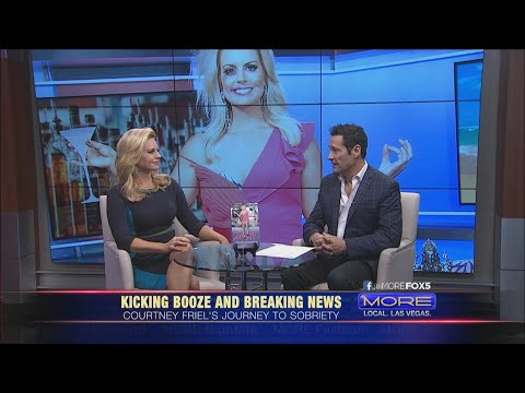 TV news anchor Courtney Friel writes new book about her road to sobriety