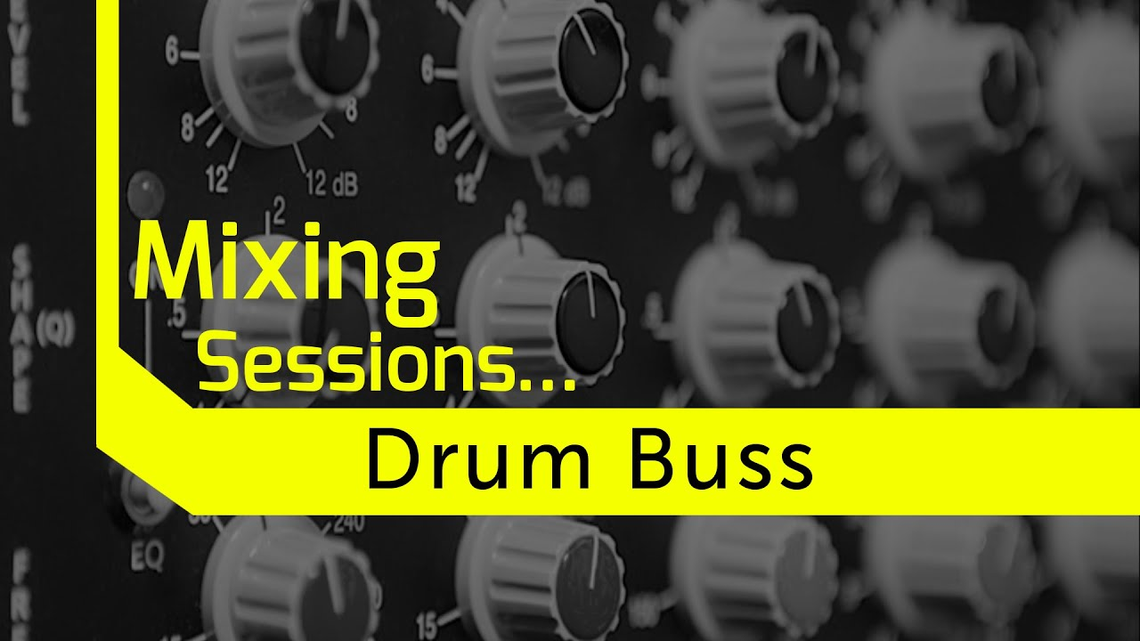 Drum Buss Processing on a Budget - YouTube