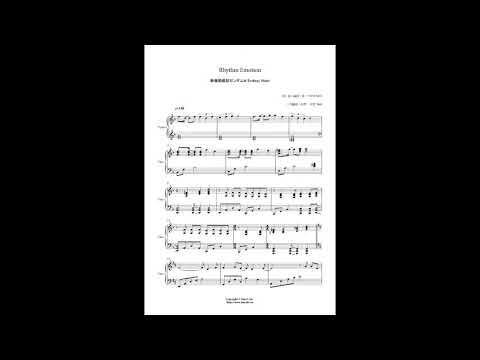 新機動戦記ガンダムw - Two-mix - Rhythm Emotion (piano Cover) video