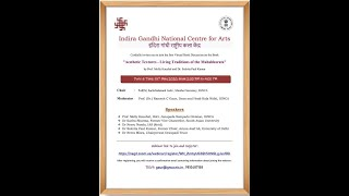 """Webinar on """"Aesthetic Textures - Living Traditions of the Mahabharata"""""""