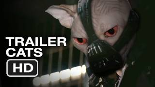 The Dark Knight Rises - The Dark Knight Rises Official TRAILER CATS - Christian Bale, Batman (2012) HD