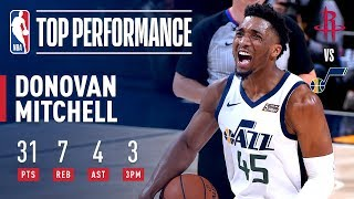 Donovan Mitchell Racks Up 31 Points to Force Game 5 | April 22, 2019
