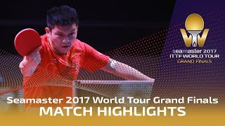2017 World Tour Grand Finals Highlights: Timo Boll vs Fan Zhendong (1/2)