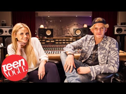 Hanging with Cody Simpson and Sis Alli Simpson in the Studio—Teen Vogue's Besties