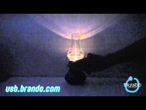 USB Blow LED Lamp