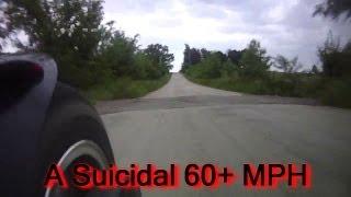 Custom X19 Super Pocket Bike, 125cc Race Motor, Over 60 MPH On-Board Video!!!