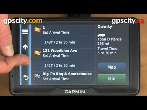 Tutorial - Using the Trip Planner in Garmin dezl 760lmt to Plan Routes