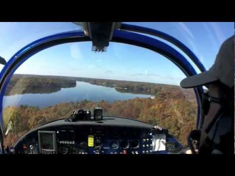 Glassy-Water Seaplane Landing Surprises Passenger