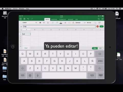 Tutorial ¿Como tener Excel FULL? 2014 iPad iPhone iOS 7 Microsoft Office
