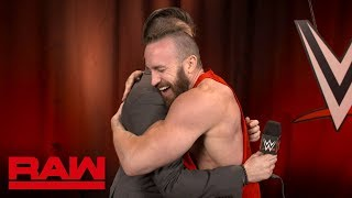 Mike Kanellis gets some exciting news: Raw Exclusive, April 30, 2018