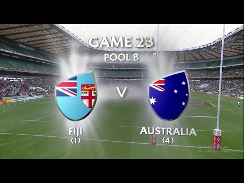 Fiji vs Australia London 7s 2016